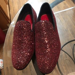 Other - Amali Red Loafers Size 12